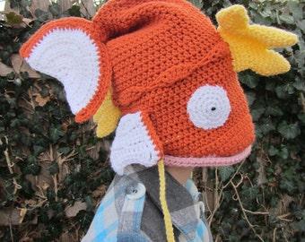 Made to Order - Magikarp Pokemon Crochet Hat