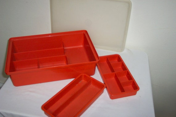 Tupperware  Container Organizer 4 Piece Set