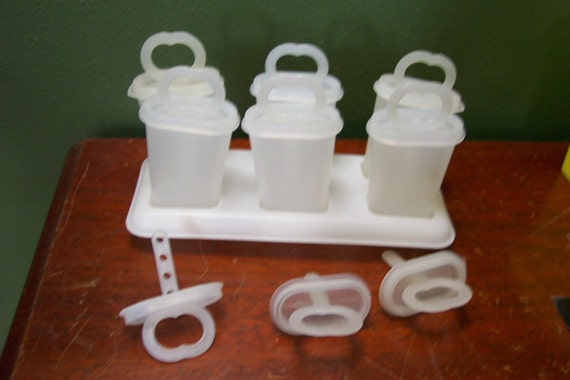 Tupperware Ice Tups Popsicle Makers