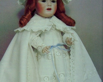 Doll Clothes Pattern Melissa Byron Girl Doll Connies Uncut Pattern Doll Fashion
