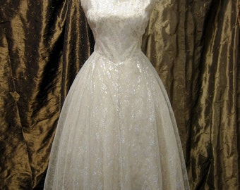 Pretty in Pink Vintage Gown On SALE