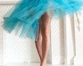 Turquoise Tutu Swirl, 11x14 Photograph, Wall Art