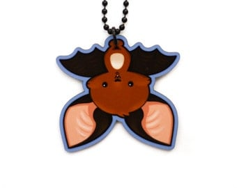 Bat Necklace - Kawaii Batty Charm