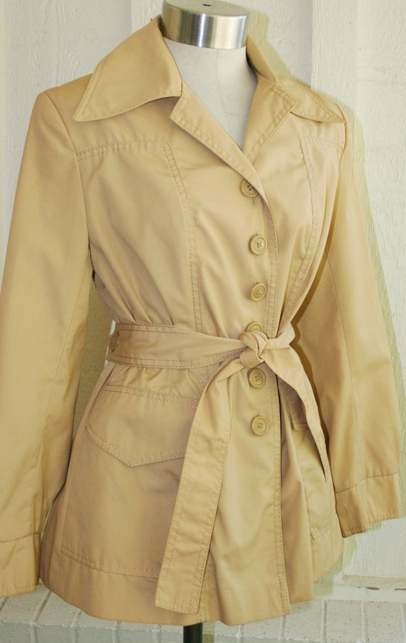 Secret Service Sweetie - Trench Coat - Jacket  - by Rainette Fashions