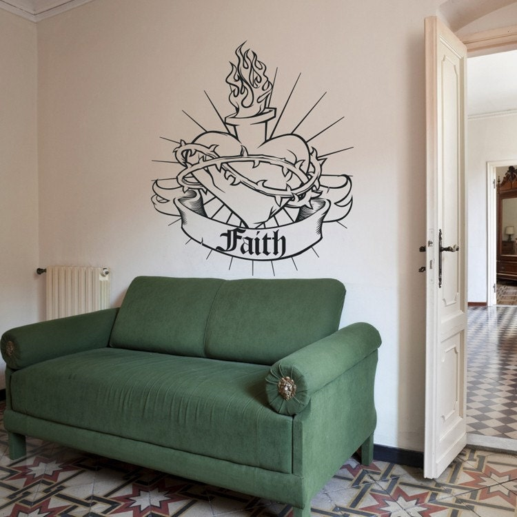 sticker mural sacr coeur sticker mural personnalis. Black Bedroom Furniture Sets. Home Design Ideas