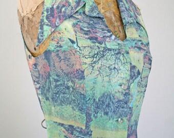 DEJEUNER // 90s sheer maxi dress