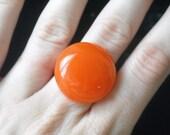 Orange Ring Adjustable