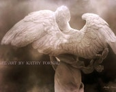 Angel Photography, Dreamy Ethereal Angel Wings, Surreal Angel Photos, Spiritual Angel Art Prints, Dreamy Angel Wings Fine Art Photography
