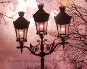 Paris Photography, Paris Street Lamps, Paris Autumn Fall Decor, Romantic Paris Lanterns, Paris Architecture, Paris Street Lanterns Lights