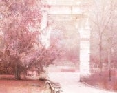 Paris Photography, Dreamy Paris Pink Art Prints, Paris Parc Monceau Prints, Romantic Paris Park, Paris Pink Decor, Paris Fine Art Photograph