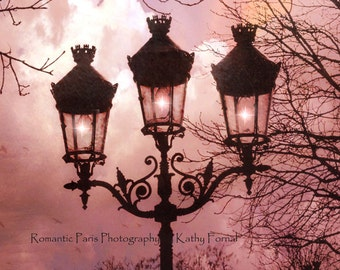 Paris Photography, Paris Street Lamps, Paris Autumn Fall Decor, Romantic Paris Lanterns, Paris Architecture, Paris Street Lanterns Lights