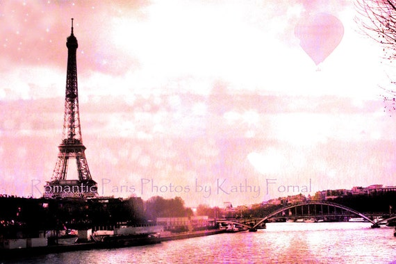 Paris Eiffel Tower Photography With Quotes Paris Photography Pink Eiffel