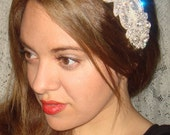 Rhinestone Headband- Mademoiselle, Bridal Headband, Headband, Wedding Headpiece, Bridal Headpiece, Accessories