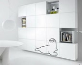 Save The Seals Wall Decal