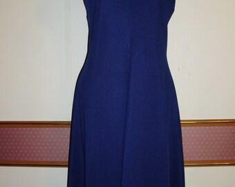 Retro Blue Dress