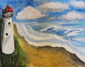 Original Painting The Lighthouse