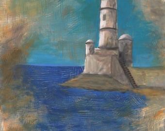 Original Painting The Sentinel