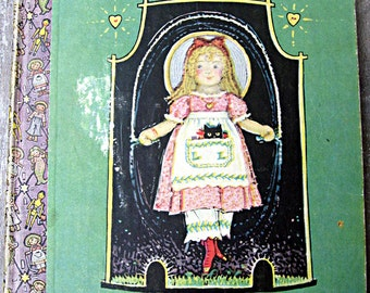Vintage book by John Rae, Lucy Locket the Doll With the Pocket, first edition book, 1920's child's book, Raggedy Ann artist, child's book