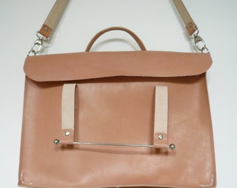 Natural Leather Laptop Case