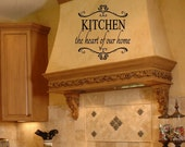 kitchen wall decals on Etsy, a global handmade and vintage ...