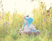 Hoot Hat Crochet PDF Pattern - All Sizes - Instant Download