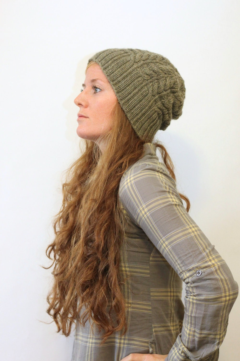 Knitting Patterns For Toques : KATHLEEN // hat worsted cable rib toque knitting by ...