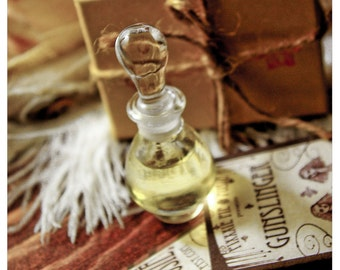 the josette bottle - natural perfume oil held captive in victorian style 1/3 oz tear drop bottle - OVER 60 aromas to choose from