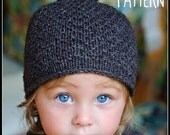 make your own Sugar Bear Hat (DIGITAL KNITTING PATTERN) for babies and children