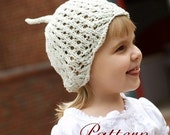 make your own Lace Sprout Topper (DIGITAL KNITTING PATTERN) preemie newborn baby toddler child adult