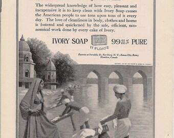 Vintage Ad - Ivory Soap - 1918 original ad