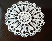 Crochet Doily, Round, in any color