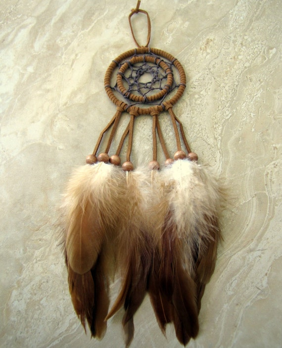 Dream catcher feather dream catcher double ring for How to make a double ring dreamcatcher