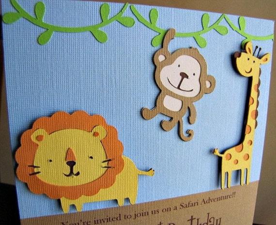 Safari Jungle Invitations is awesome invitation template