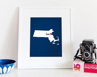 Boston is My Home // 8x10 Digital Massachusetts Print