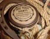 Drunk Elves-  4 oz Western cowboy candle