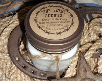 Mrs Claus Kitchen - 8 oz Western Cowboy Candle - NEW
