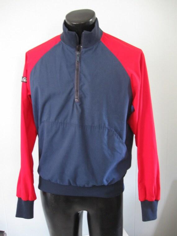Red n Blue Windbreaker Ski Shell Jacket by  AFRC Sioux City SD Medium