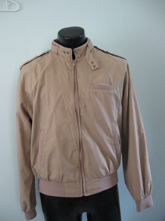 Members Only Style Jacket by Peter England Vintage 80s 1980s