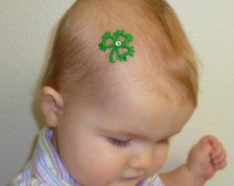 St. Patrick's day Shamrock Clover Tattie 3 leaf
