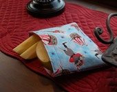 Pirate Reusable Snack Bag - Medium