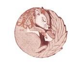 Belka - Baby Squirrel - Limited Edition - Art Print