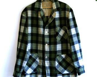 Wool Plaid Jacket - Vintage