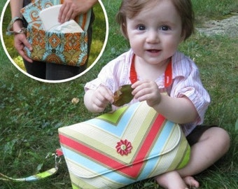 Pattern - Grab 'n' Go Diaper Clutch PDF Sewing Pattern