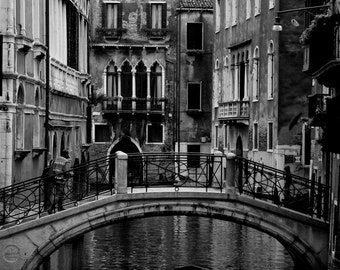 Cruising down the Canal in Venice, Fine Art Print, Venice, Italy,
