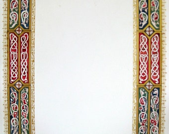SCA scroll - Half-custom scroll - scroll border