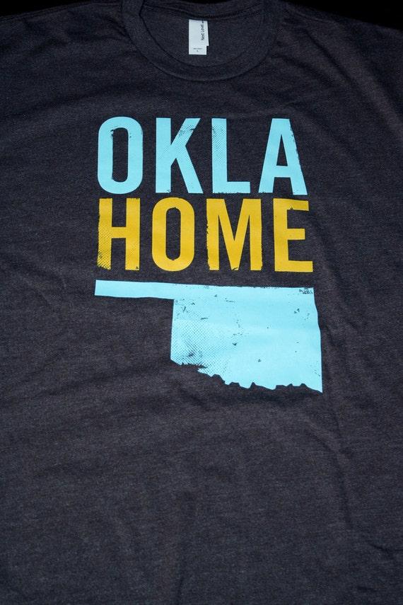 OklaHome T-shirt - Blue (Large)