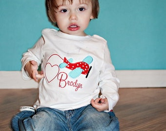 Shirt, Boy, Sky Valentine Shirt