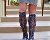 Knitting Pattern, Leg Warmer Pattern, Leg Warmers Women, Womens Legwarmers, Knit Leg Warmers Pattern, Lace Leg Warmers, Lace Legwarmers