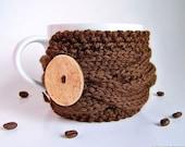 Coffee Cozy, Coffee Mug Cozy, Coffee Cup Cozy, Tea Cozy, Knit Coffee Sleeve, Cup Warmer, Knit Coffee Cozy, Cup Sleeve