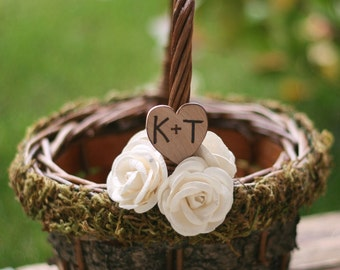 Personalized Flower Girl Basket